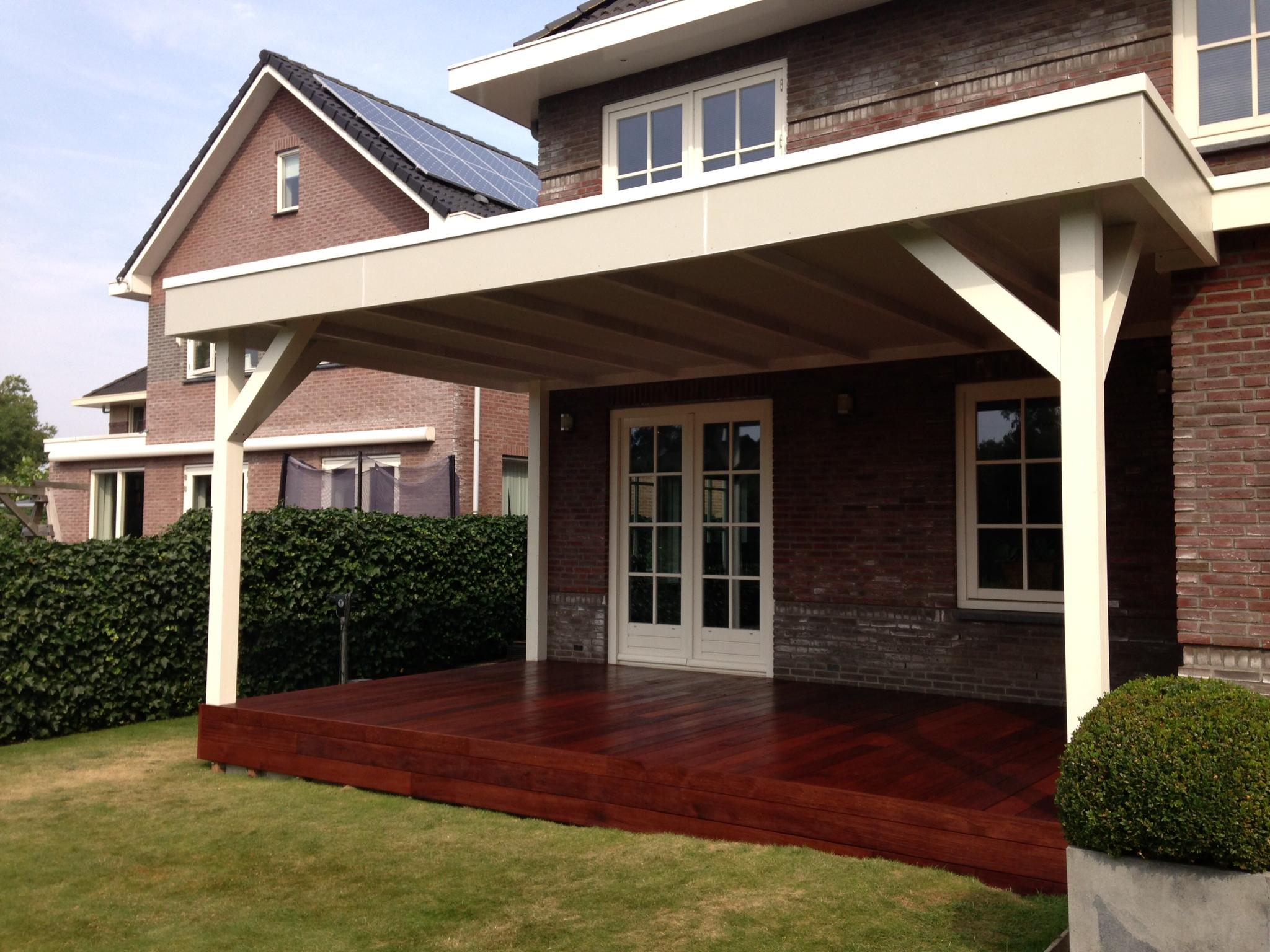 Duurzame veranda te vinkeveen - Te vergroten zijn huis met een veranda ...